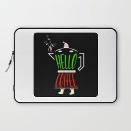 Hello Coffee Laptop Sleeve