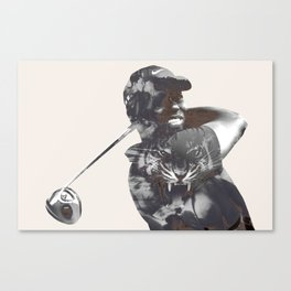 Sir Tiger Woods Canvas Print