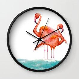 Fenicoteri Wall Clock