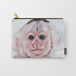 Capachin Monkey Carry-All Pouch