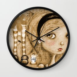 Courage, Alice Wall Clock