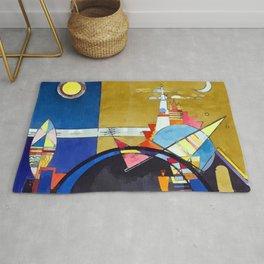 Wassily Kandinsky The Great Door of Kiev Rug