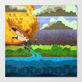 Osprey River Hunt Canvas Print