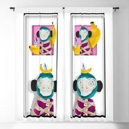 monkey Blackout Curtain