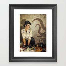 Detective Framed Art Print
