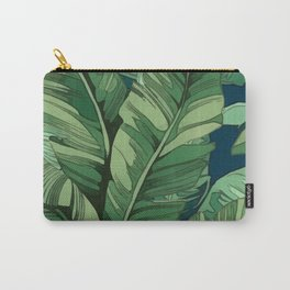 Broad Leaves Carry-All Pouch