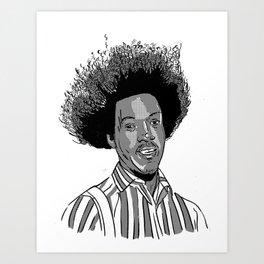 Hi, I'm Buh-weet, amembuh me? Art Print