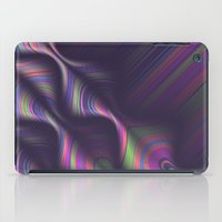 novelty iPad Cases featuring Novelty Waves 2 by Mario De Meyer