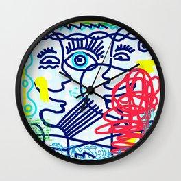 LET'S TALK ART #04 Wall Clock
