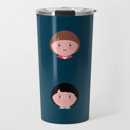 Stranger Icons Travel Mug