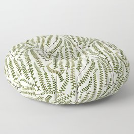 Fern Leaves Floor Pillow