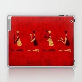 Forms of Prayer - Red Laptop & iPad Skin