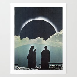 Total Eclipse Art Print