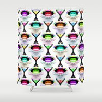 rap Shower Curtains featuring Rap Music by Amy Staton