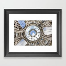 Eye of the World, Architecture Art Print, Architecture Canopy, passage, Occulus, Center of the Earth Framed Art Print