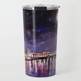 Paris at Night Travel Mug
