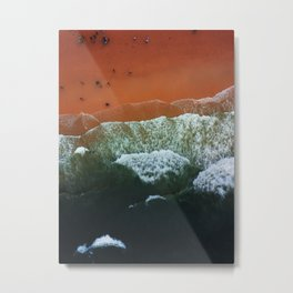 Seaside from the sky Metal Print