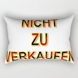 NOT FOR SALE E Rectangular Pillow