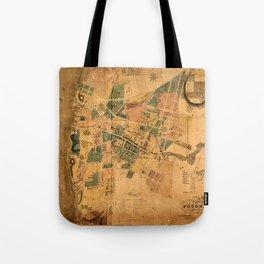 Map Of Poughkeepsie 1834 Tote Bag