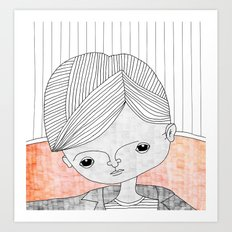The Kid Art Print