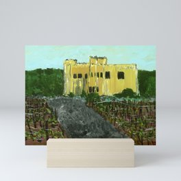 Sand Castle Winery Mini Art Print