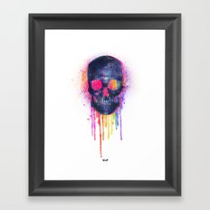 Skullor Framed Art Print