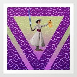 Mary for Ryma ! Art Print