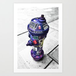HYDRATE Art Print