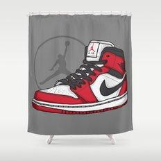 Jordan 1 OG (Chicago) Shower Curtain