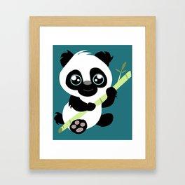 Adoreables: Panda  Framed Art Print