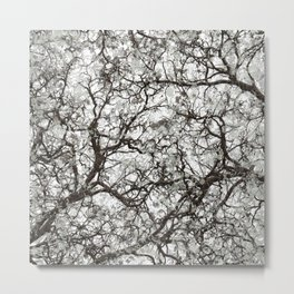 Winter Forest Hunting Camo Metal Print