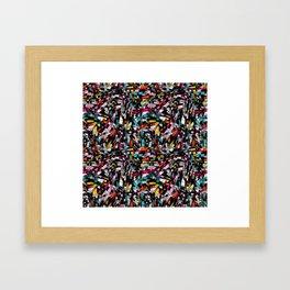 Mack the knife Framed Art Print