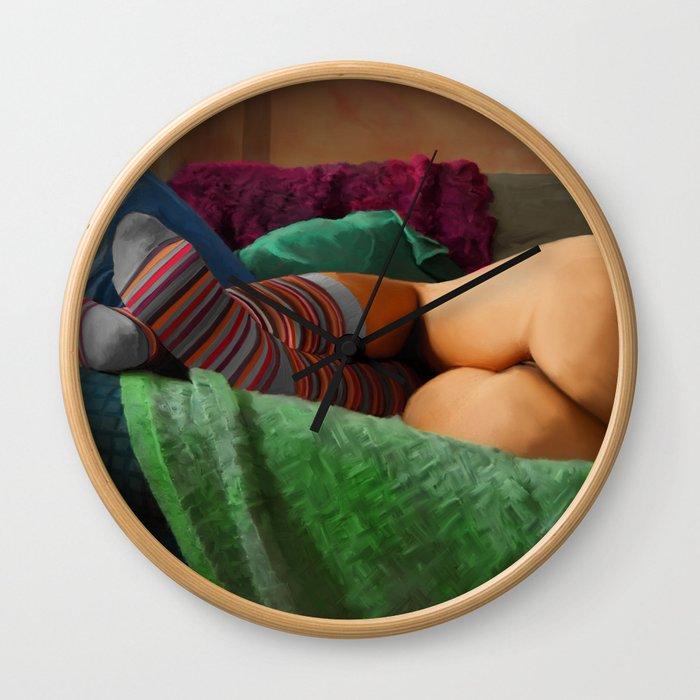 Hot Dreams #2 Wall Clock