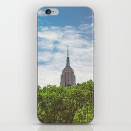 Color Empire State Building iPhone Skin