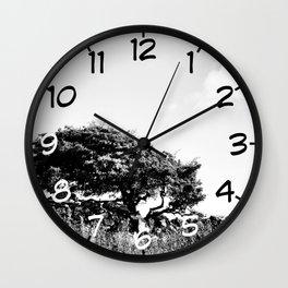 No silver lining Wall Clock