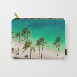 An Aerial view of a Scenic Beach in Thailand Carry-All Pouch