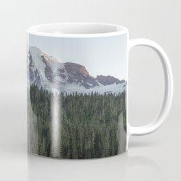 Sunrise at Reflection Lake - Mount Rainier Vertical Coffee Mug