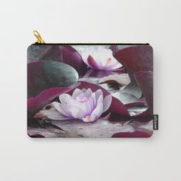 Waterlily Escape Carry-All Pouch