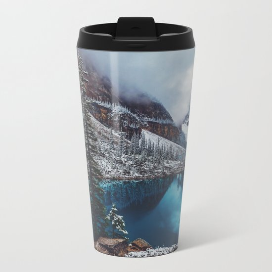 Moraine Lake Metal Travel Mug