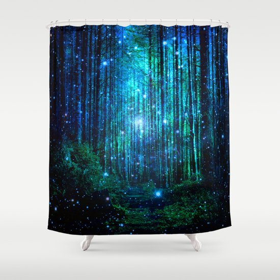 magical path shower curtainharoulita | society6