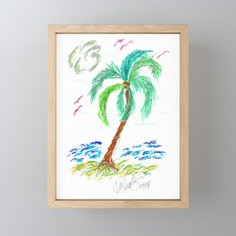 """Beach Afternoon"" Framed Mini Art Print"