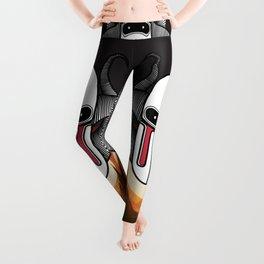 serie Robots Hoorhey Leggings