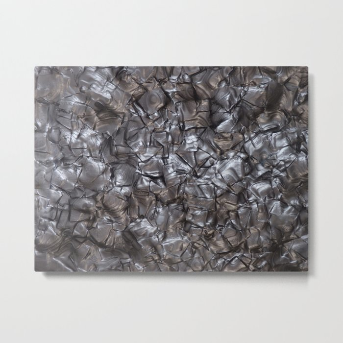 Artificial Nacre Metal Print