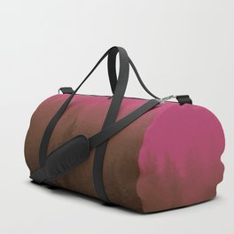Pink & Chocolate Taffy Fog - Seward, Alaska Duffle Bag