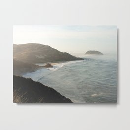 Sunrise over Big Sur Metal Print