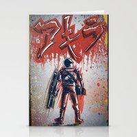 akira Stationery Cards featuring Akira by Joe Badon