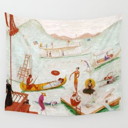"Florine Stettheimer ""Llake Placid"" Wall Tapestry"