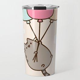 Cat Flying Travel Mug