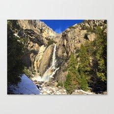 Yosemite National Park - Yosemite Falls Canvas Print