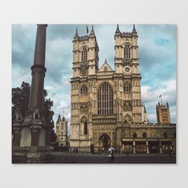 Westminster in Summer. Canvas Print